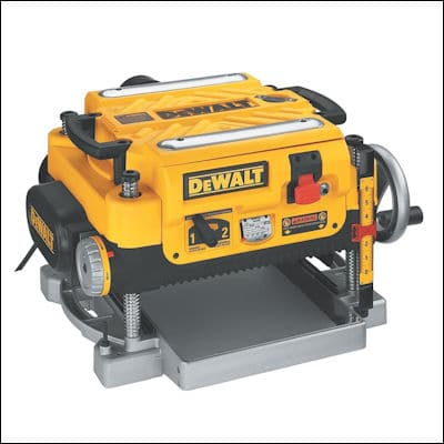 DEWALT DW735X Two-Speed Thickness Planer review