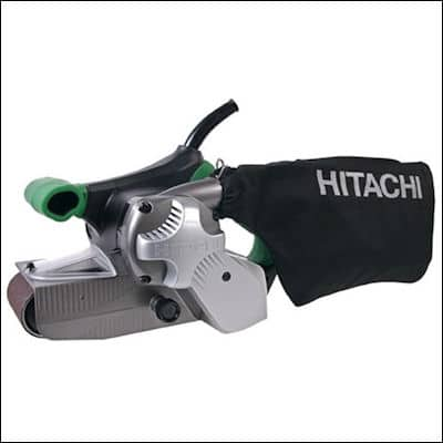 Hitachi SB8V2 Variable Speed Belt Sander review