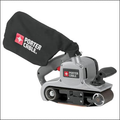 Porter Cable 352VS Variable-Speed Belt Sander review