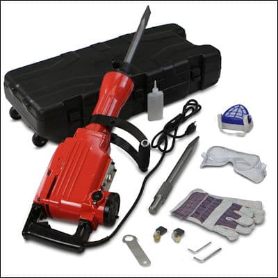XtremepowerUS 2200Watt Electric Demolition Jack hammer review