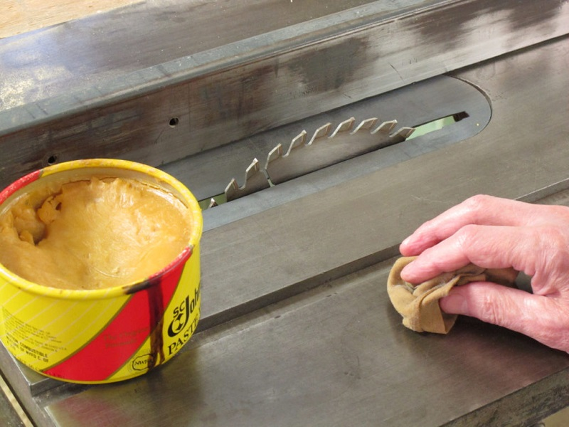 wax for table saw
